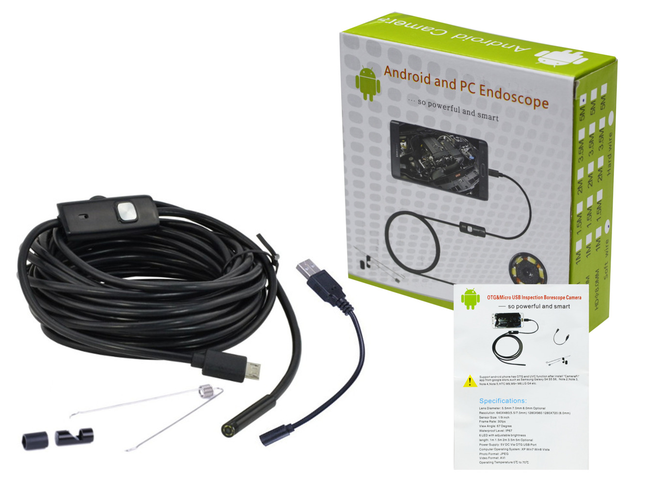 android pc endoscope